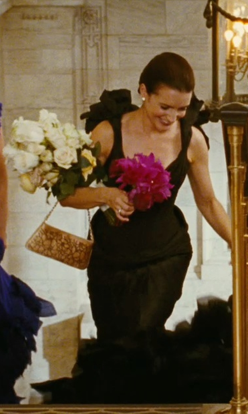 Kristin Davis with Chanel Flap Bag in Sex and the City