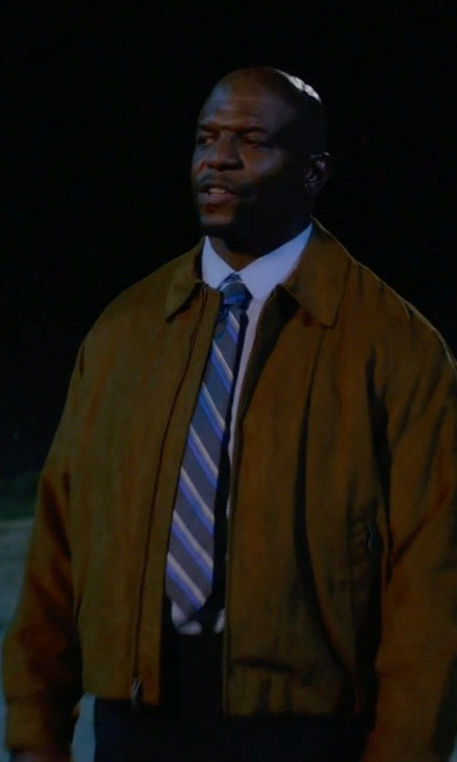 Terry Crews with 5.11 Tactical Torrent Jacket in Brooklyn Nine-Nine