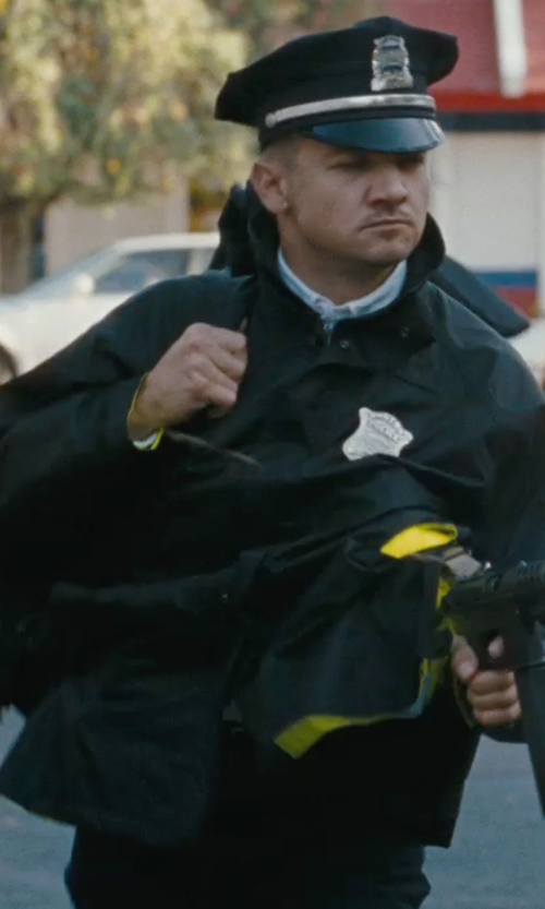 Jeremy Renner with Galls 3 in 1 Waterproof Jacket in The Town