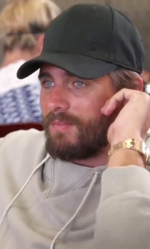 Scott Disick with John Elliott Kake Mock Pullover Hoodie in Keeping Up With The Kardashians