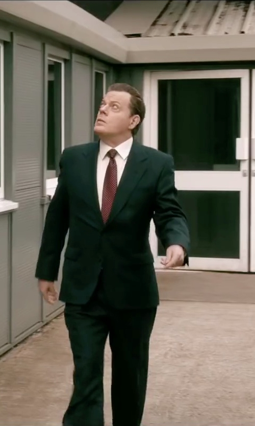 Eddie Izzard with Valentino Shell Classic Tie in Absolutely Anything