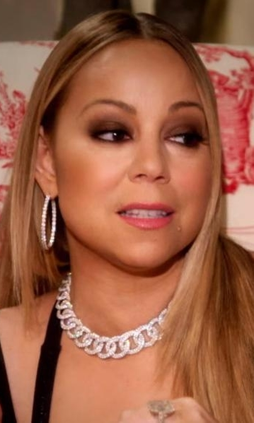 Mariah Carey with David Yurman  Oval Link Necklace in Mariah's World