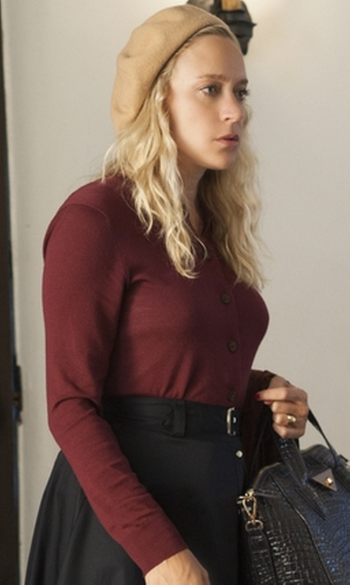 Chloë Sevigny with The Limited Lightweight Cardigan in American Horror Story