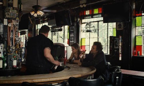 Mark Ruffalo with Vazac's Horseshoe Bar New York City, New York in Begin Again
