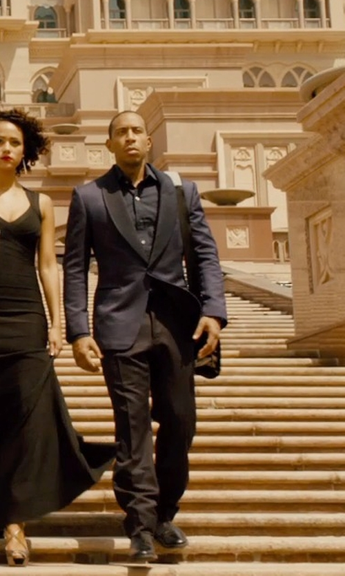 Ludacris with Tom Ford Patterned Blazer in Furious 7