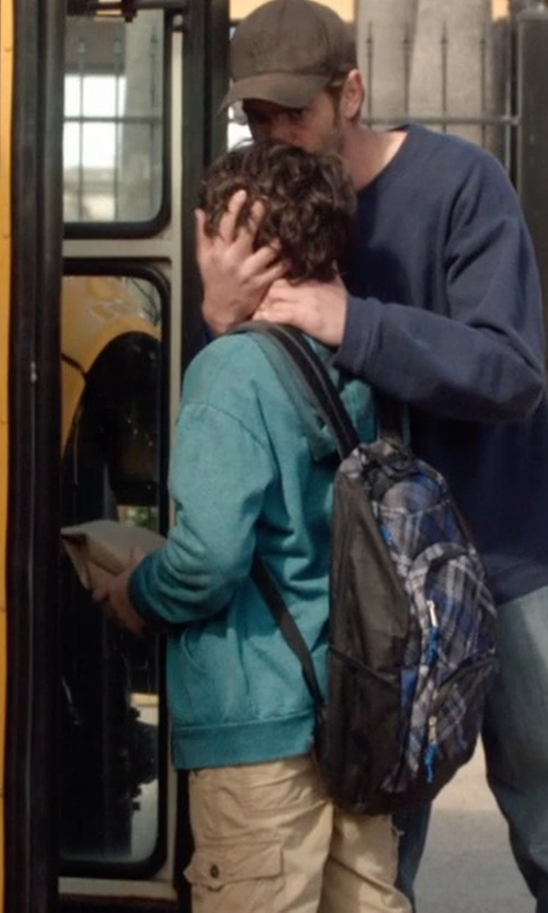 Noah Lomax with Trailmaker Boys' Laptop Camo Backpack in 99 Homes