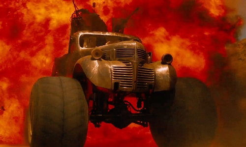 Unknown Actor with Dodge Modified 1942 Pick Up Truck in Mad Max: Fury Road