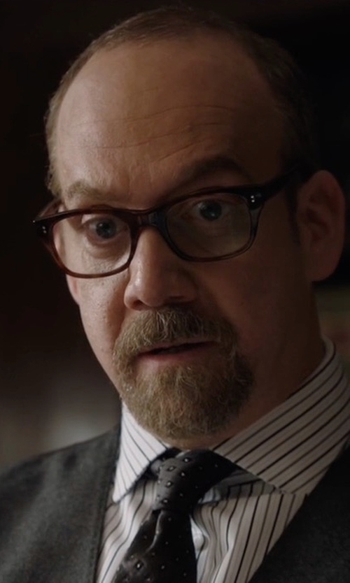 Paul Giamatti with Oliver Peoples Square Frame Glasses in Billions