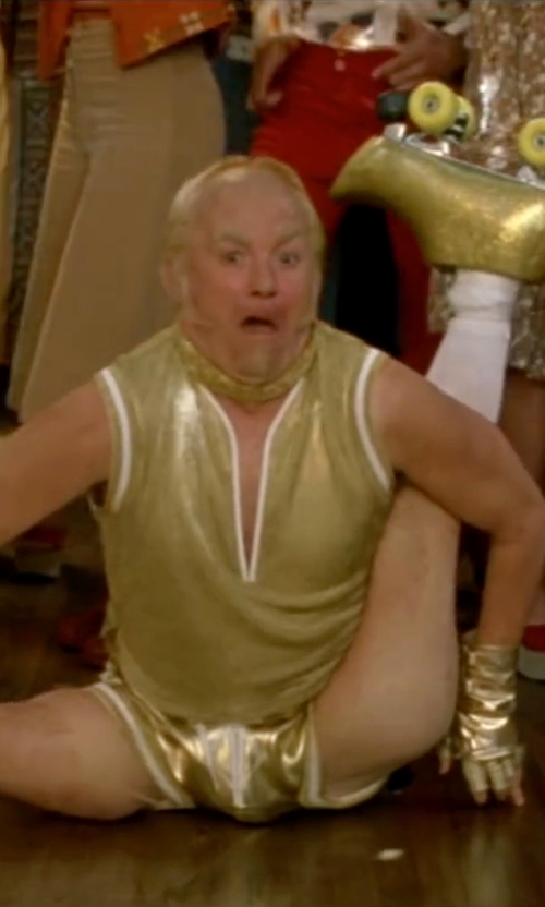 Mike Myers with Bill Hargate Costumes Custom Made Drawstring Shorts in Austin Powers in Goldmember