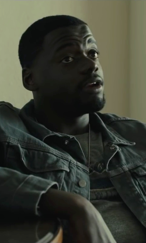 Daniel Kaluuya with Pyrrha Petite Talisman Pendant Necklace in Sicario