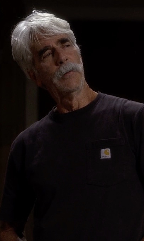 Sam Elliott with Carhartt Workwear Pocket T-Shirt in The Ranch