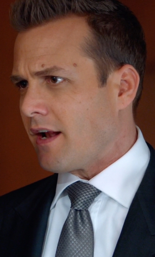Gabriel Macht with Nordstrom 'Small Basket Weave Neat' Woven Silk Tie in Suits