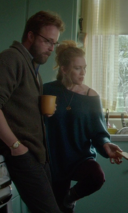 Mireille Enos with MiH Jeans Bonn High Rise Super Skinny Jeans in If I Stay