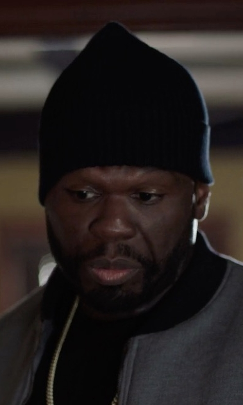 50 Cent with Filson Wool Cap in Power
