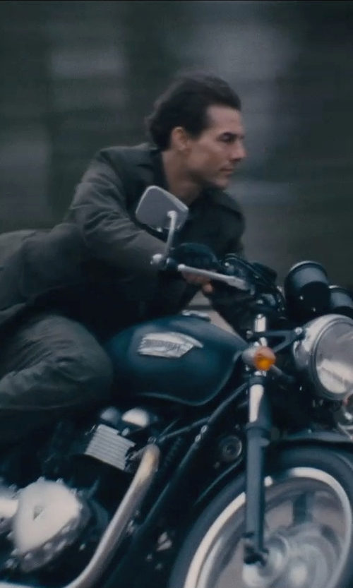 Tom Cruise with Alpha Industries Men's M-65 Field Jacket in Edge of Tomorrow