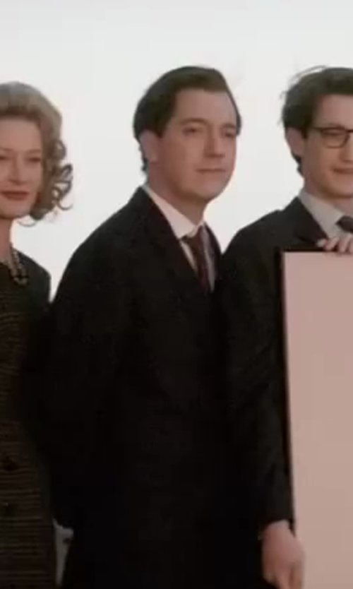 Guillaume Gallienne with Burberry London Treyforth Solid Dress Shirt in Yves Saint Laurent