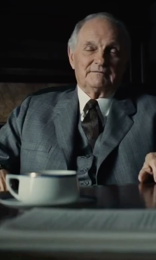 Alan Alda with Patek Philippe Calatrava Vintage Watch in Bridge of Spies