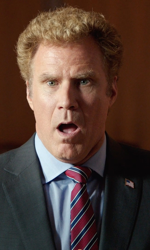 Will Ferrell with Tonello Classic Two Piece Suit in Get Hard
