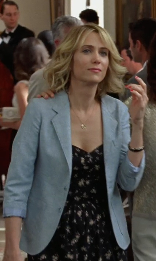 Kristen Wiig with Brooks Brothers Merino Wool Sweater Blazer in Bridesmaids
