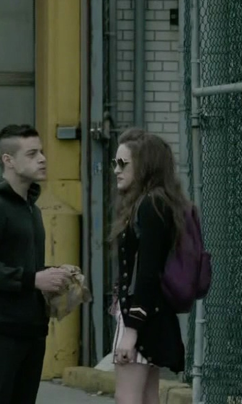 Carly Chaikin with Wildfox Lolita Sunglasses in Mr. Robot