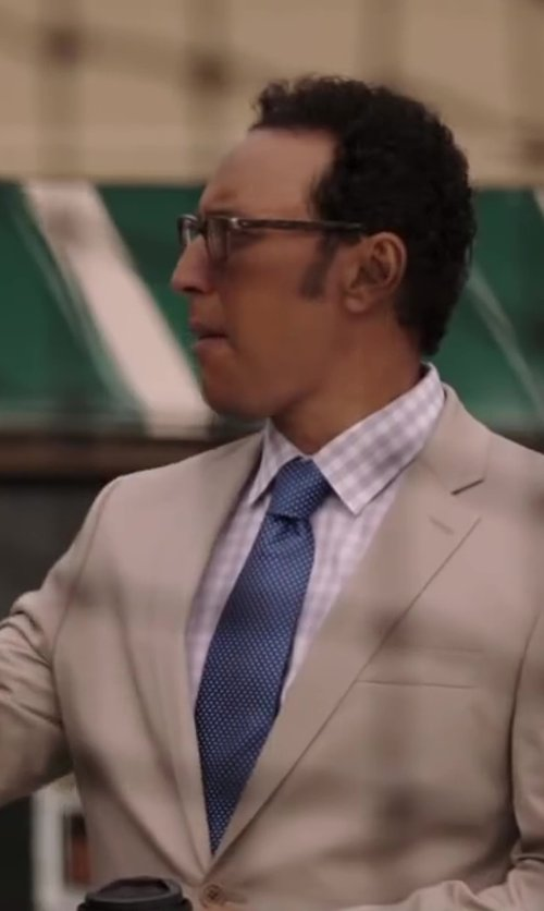 Aasif Mandvi with J.Crew LUDLOW SHIRT IN GINGHAM in Million Dollar Arm