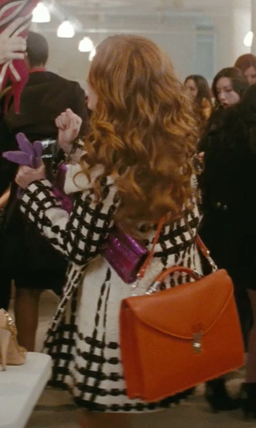Isla Fisher with Prada Leather Briefcase Bag in Confessions of a Shopaholic