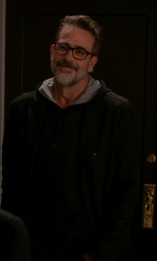 Jeffrey Dean Morgan with J Brand Becker Sweater in The Good Wife