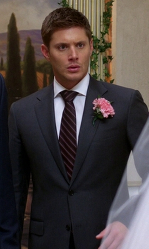 "Jensen Ackles with Canali ""C Soft"" Suit in Supernatural"