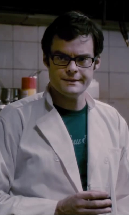 Bill Hader with Dickies Men's Francesco Classic Chef Coat in The Disappearance of Eleanor Rigby