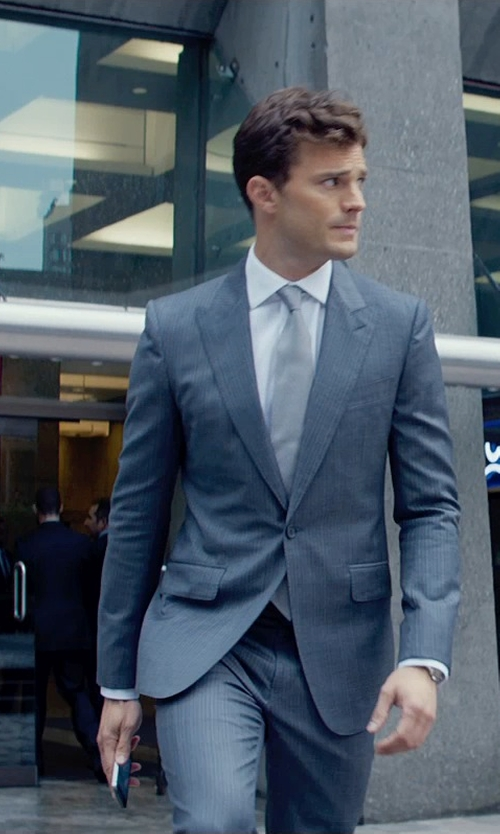 Jamie Dornan with Apple iPhone 5s in Fifty Shades of Grey