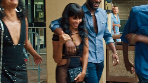 Jada Pinkett Smith with Aldo Larilan Clutch in Girls Trip