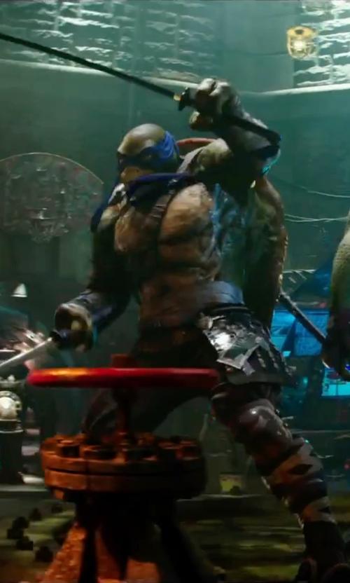Pete Ploszek with Wes Louie (Concept Illustrator) Leonardo in Teenage Mutant Ninja Turtles: Out of the Shadows