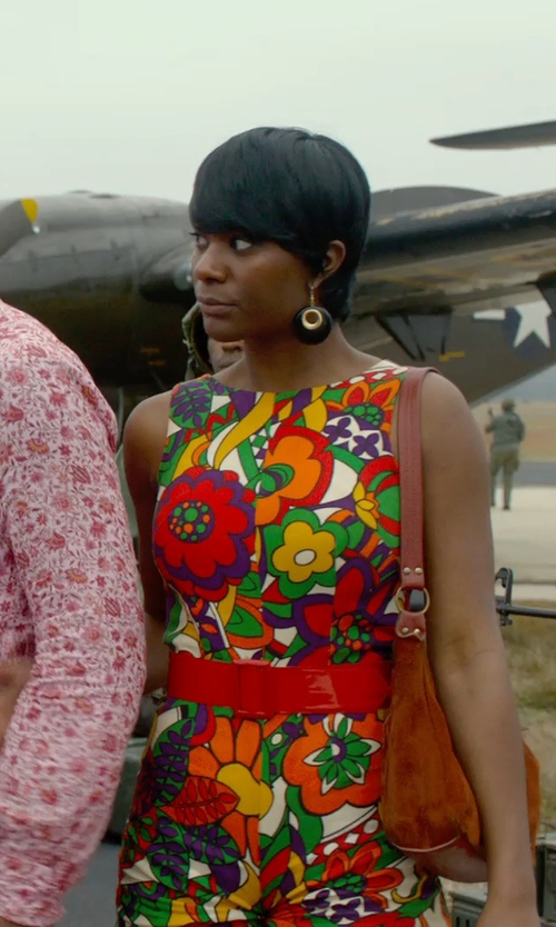 Unknown Actor with Alexis Bittar Claw Capped Lucite Clip On Earrings in Get On Up