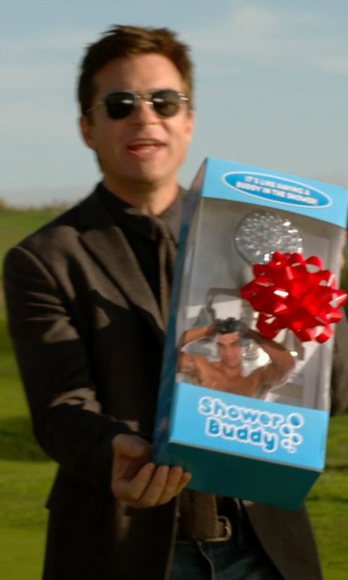 Jason Bateman with Prps Goods & Co Gremlin Skinny Scarred Pants in Horrible Bosses 2