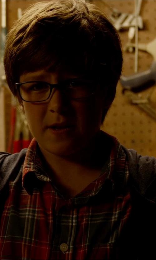 Owen Judge with Timberland Kids Navy Jersey Zip Through Hoodie in Fantastic Four