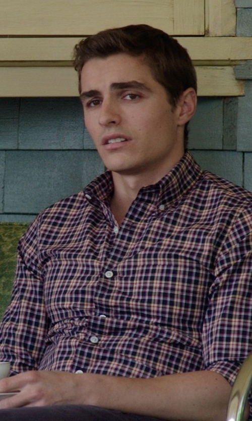 Dave Franco with Strawberry Street Swing White 12-pc Oversized Cup & Saucer Set in Neighbors