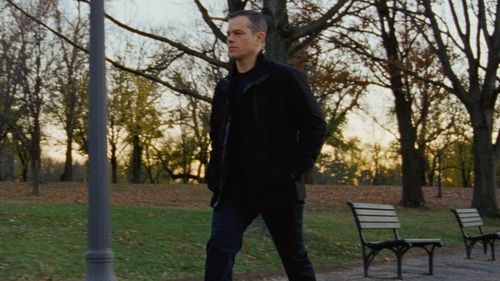 Matt Damon with Levi's 541 Athletic Fit Stretch Jeans in Jason Bourne
