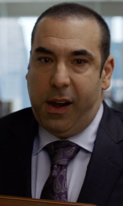 Rick Hoffman with John W. Nordstrom 'Beasley Pine' Paisley Silk Tie in Suits