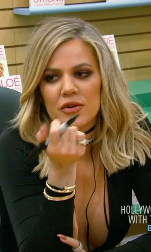 Khloe Kardashian with Cartier White-Gold & Diamond Love Bracelet in Keeping Up With The Kardashians