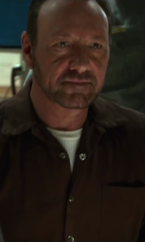 Kevin Spacey with Robinson Textiles Inmate Coveralls in Horrible Bosses 2