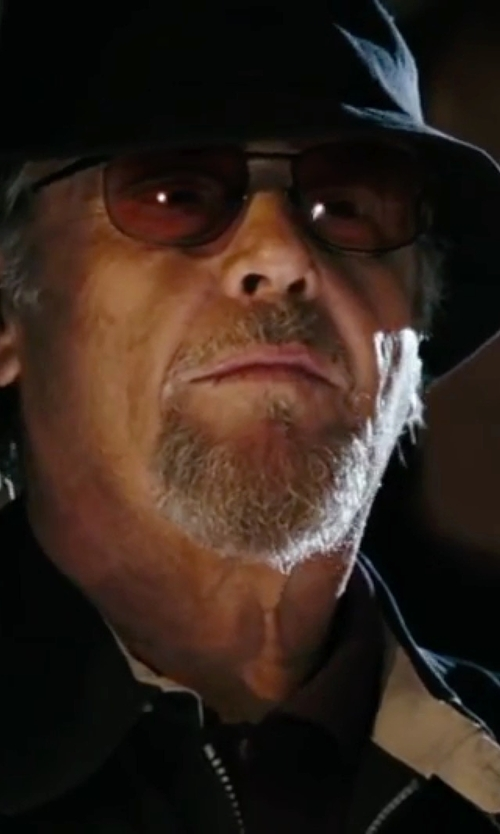 Jack Nicholson with Revo Polarized Wrap Sunglasses in The Departed