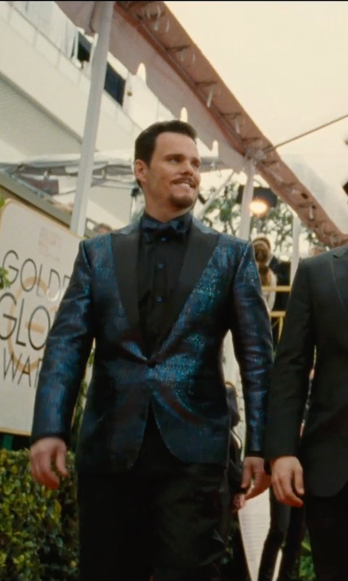 Kevin Dillon with Boss Hugo Boss 'Miles' Sharp Fit Stretch Dress Shirt in Entourage