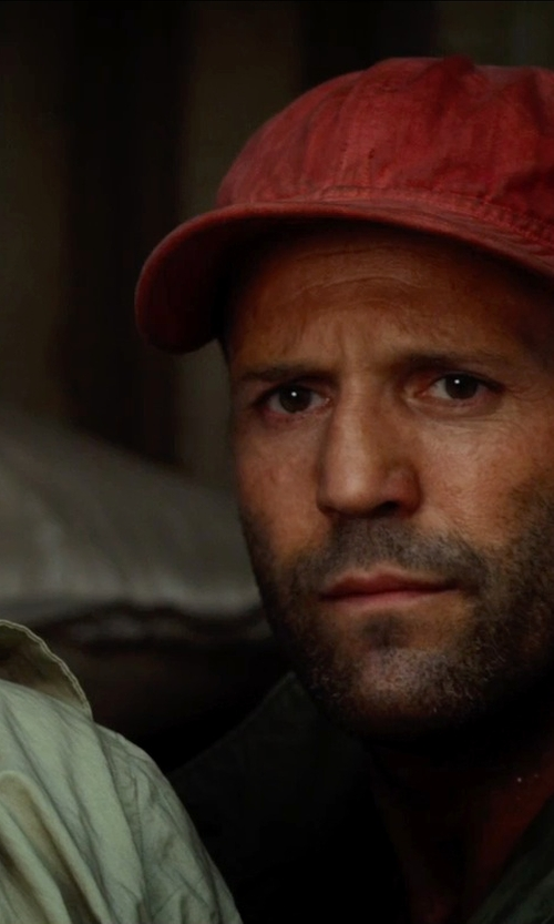 Jason Statham with Penguin Headwear Men's Charlie in The Expendables 3