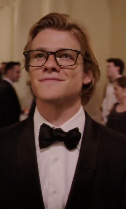 Lucas Till with Boss Hugo Boss Stars/Glamour Tuxedo Suit in MacGyver