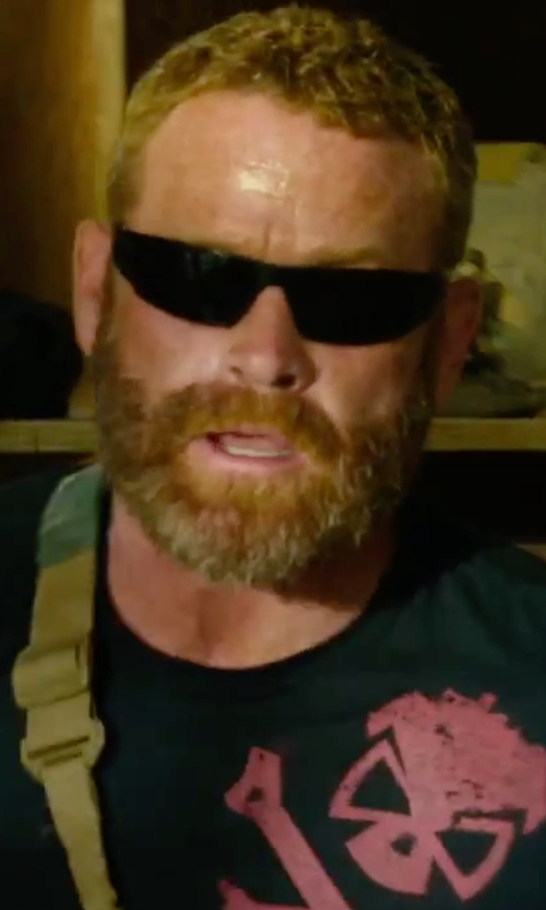 Max Martini with Gatorz Blackout Magnum Sunglasses in 13 Hours: The Secret Soldiers of Benghazi
