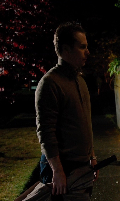 Sam Rockwell with Hunter Sporting Umbrella in Laggies