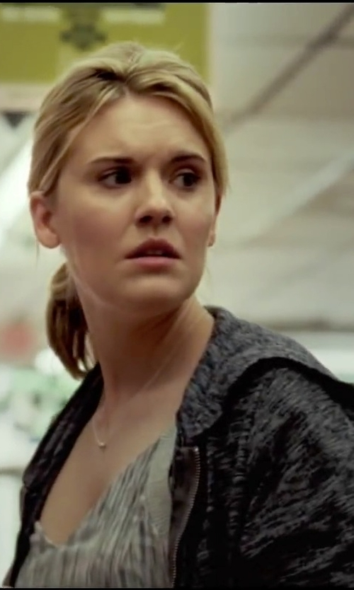 Maggie Grace with C&C California Triblend Hoodie in Taken 3