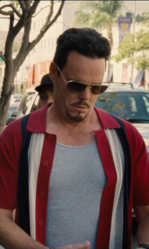 Kevin Dillon with Ray-Ban 'Original Aviator' Sunglasses in Entourage