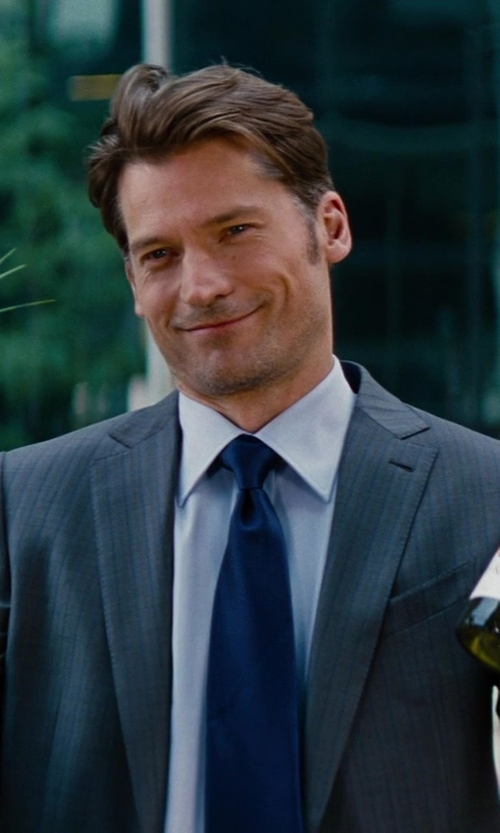 Nikolaj Coster-Waldau with Tommy Hilfiger Men's Autumn Solid Tie in The Other Woman