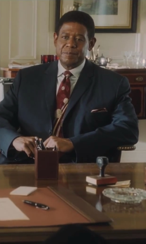 Forest Whitaker with Lands' End Men's Print Cotton Pocket Square in Lee Daniels' The Butler